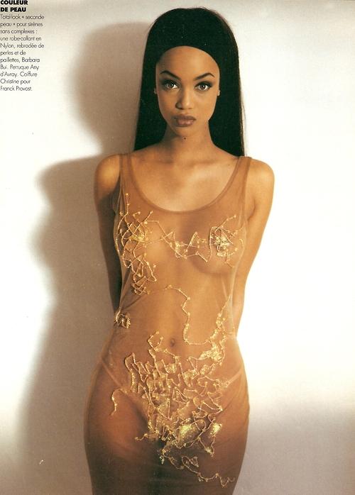 Sexy Black Female Model 79