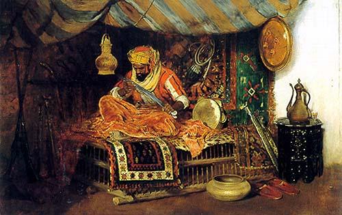 Moorish-Warior-William-Merritt-Chase-1878