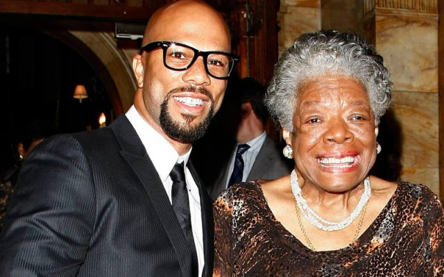 Common and Maya Angelou