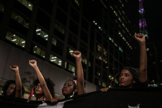 3,000 people marched down Avenida Paulista in São Paulo
